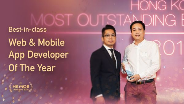 F5 Works - Best-in-class Web And Mobile App Developer Of The Year - HKMOB 2019